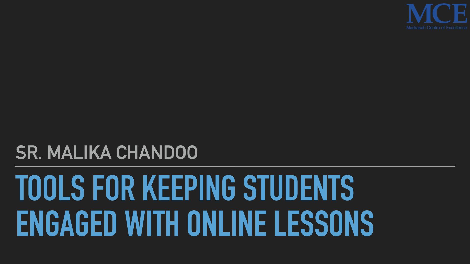 Tools for keeping students interacting with online lessons