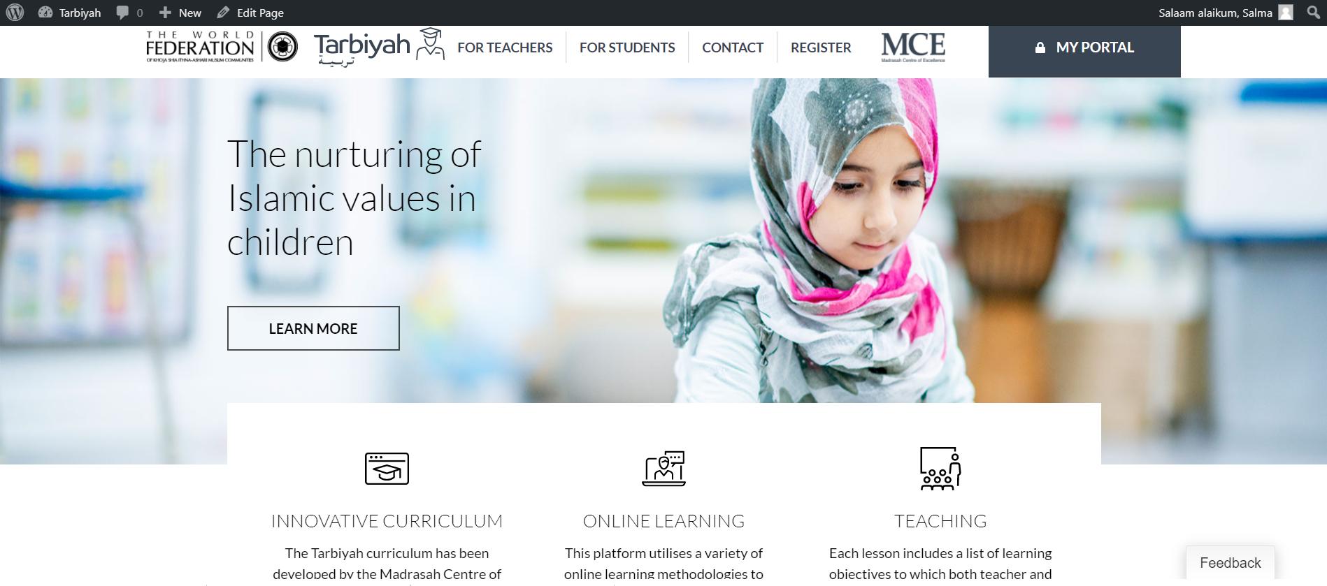 Tarbiyah Digital Platform Tutorials